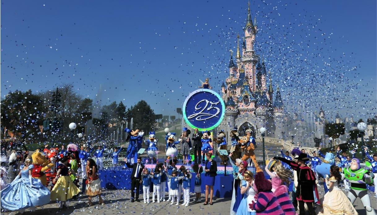 Nella primavera 2017 festeggiati i 25 anni di Disneyland Paris
