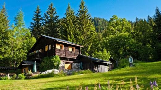 Gli eco-chalet più trendy in montagna