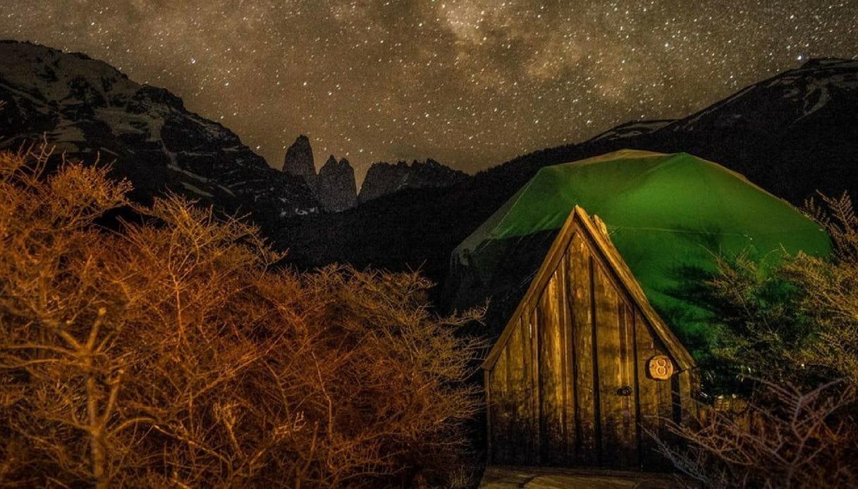 Patagonia: la sistemazione più spettacolare è l'EcoCamp