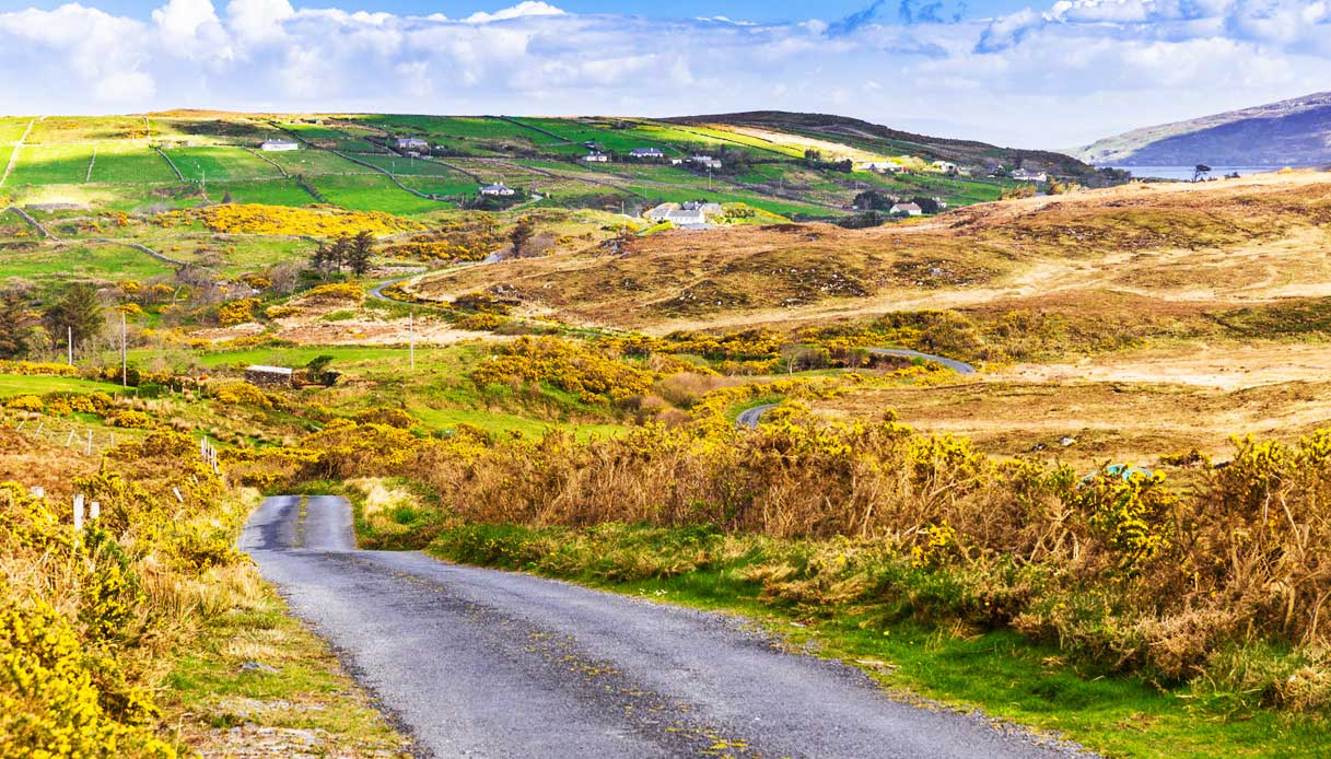 itinerario irlanda ovest bicicletta