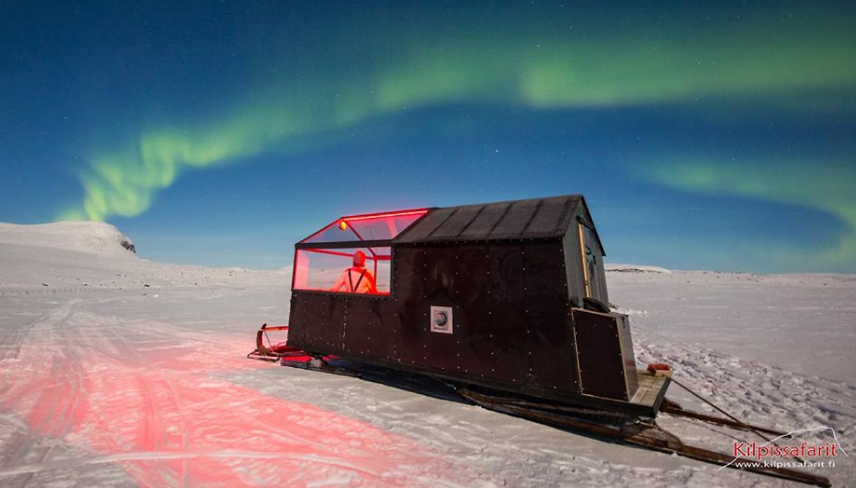 slotta hotel finlandia aurora boreale