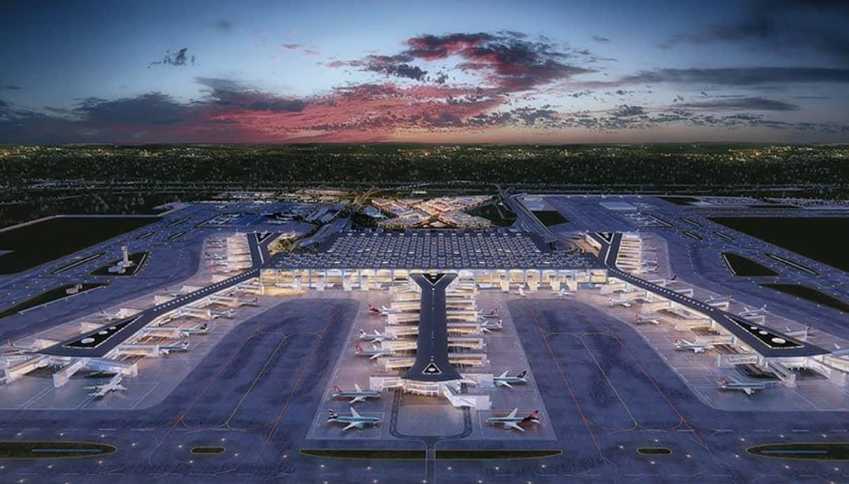 Ecco come sarà il nuovo spettacolare aeroporto di Istanbul