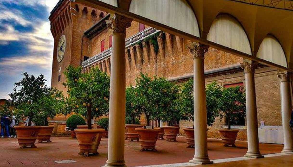 Loggia degli Aranci, Castello Estense di Ferrara