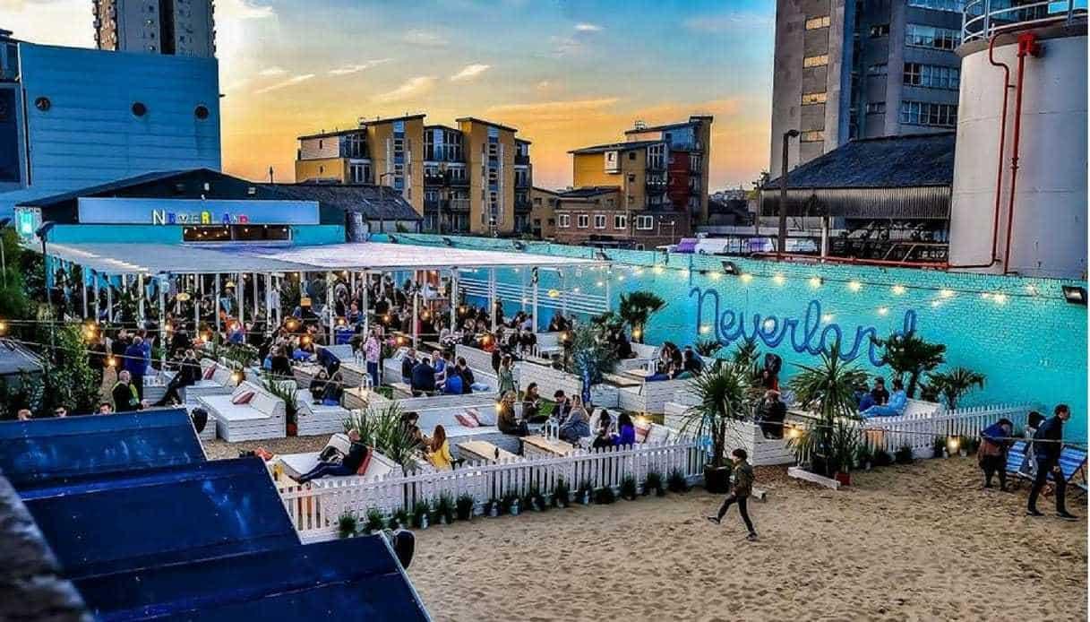 Neverlan spiaggia Londra Fulham