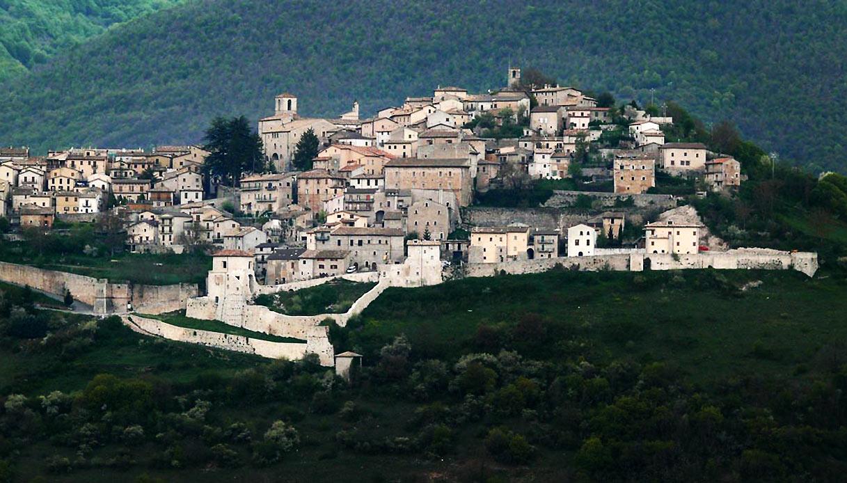 Monteleone-di-Spoleto borghi più belli Italia