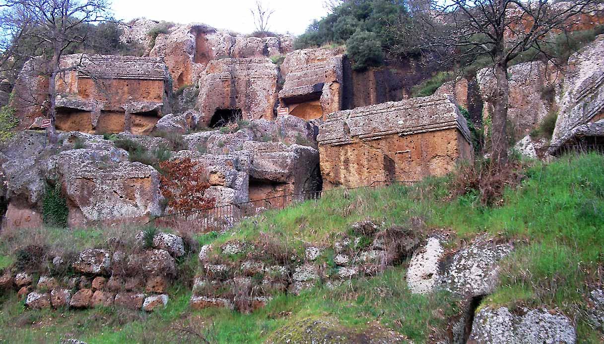 Norchia sito archeologico Roma lazio