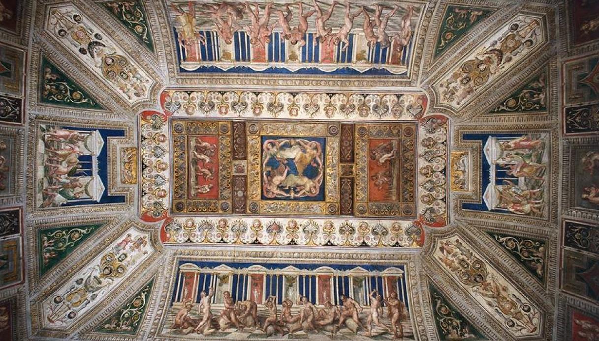 Saletta dei Giochi, Castello Estense di Ferrara