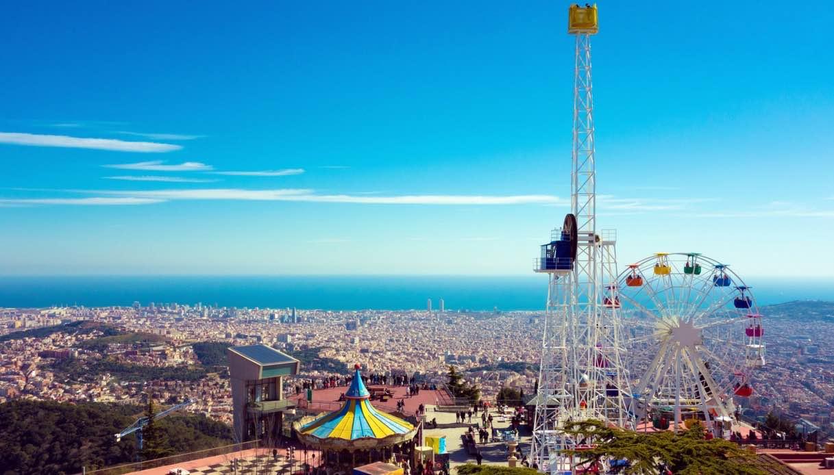 Barcellona, come si arriva al monte Tibidabo e cosa puoi vedere