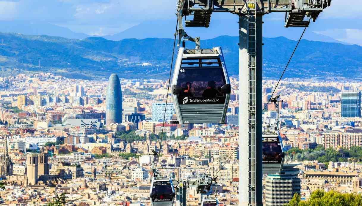 Funicolare per il Montjuic a Barcellona, come arrivare e cosa vedere
