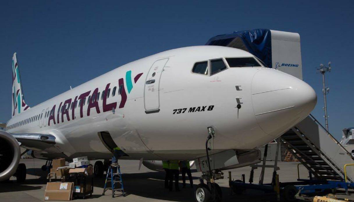 Air Italy (ex Meridiana) si presenta con il nuovo Boeing 737 Max 8