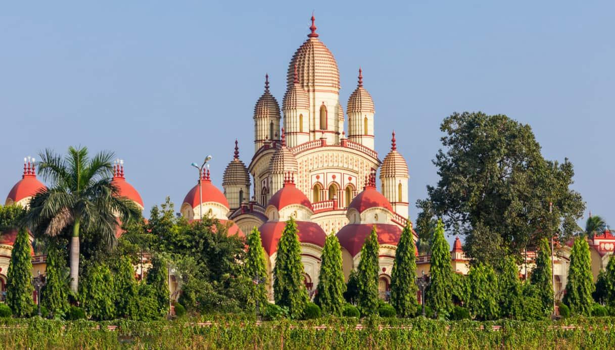 Calcutta, tempio di Dakshineswar