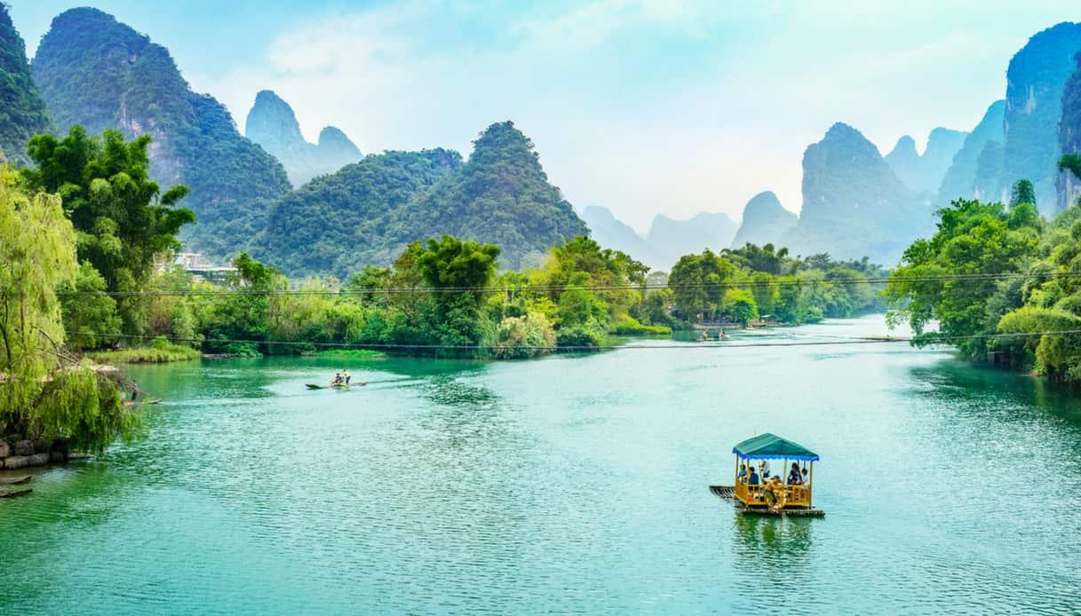 Crociera sul fiume Li, una delle 10 meraviglie acquatiche della Cina