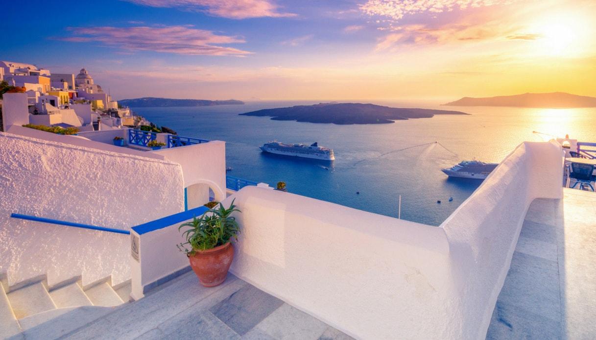In Grecia, come Carlo e Camilla