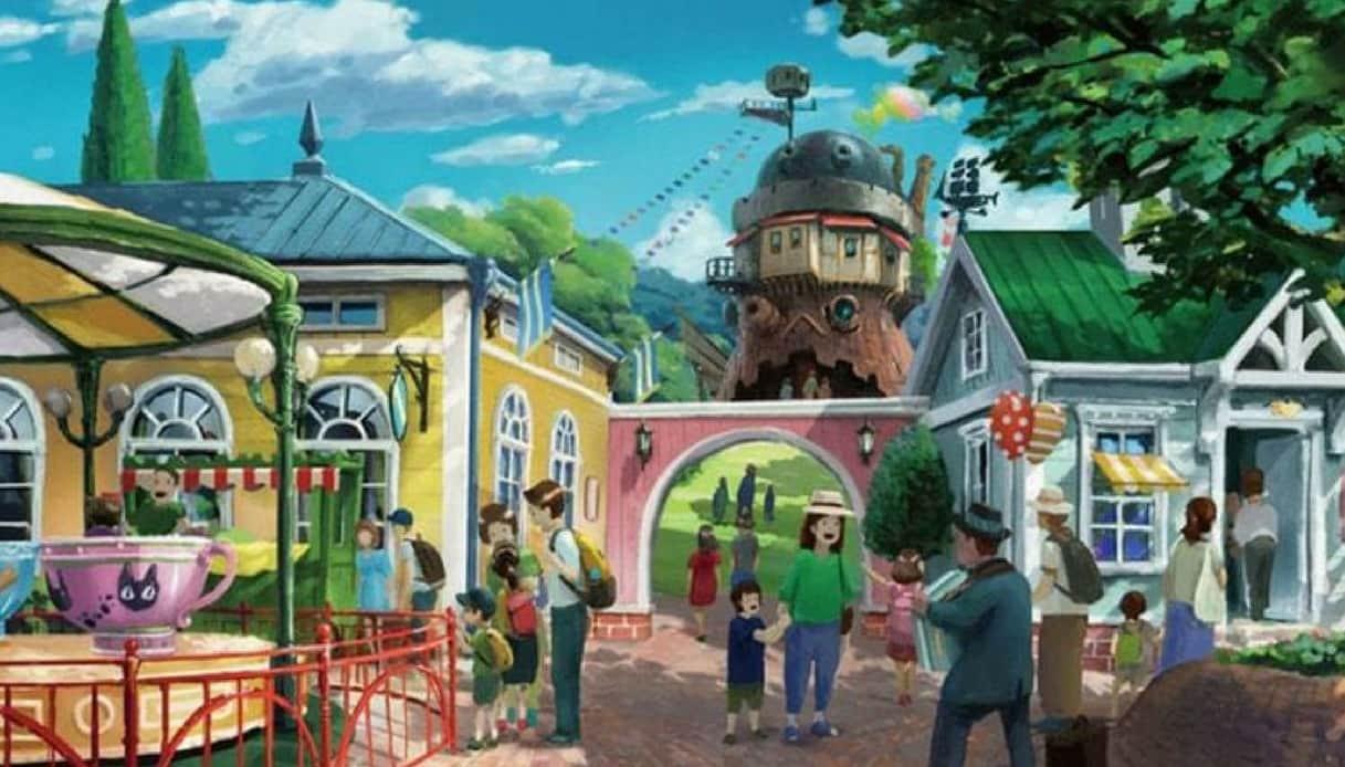 I film d'animazione dello Studio Ghibli diventeranno uno straordinario parco a tema