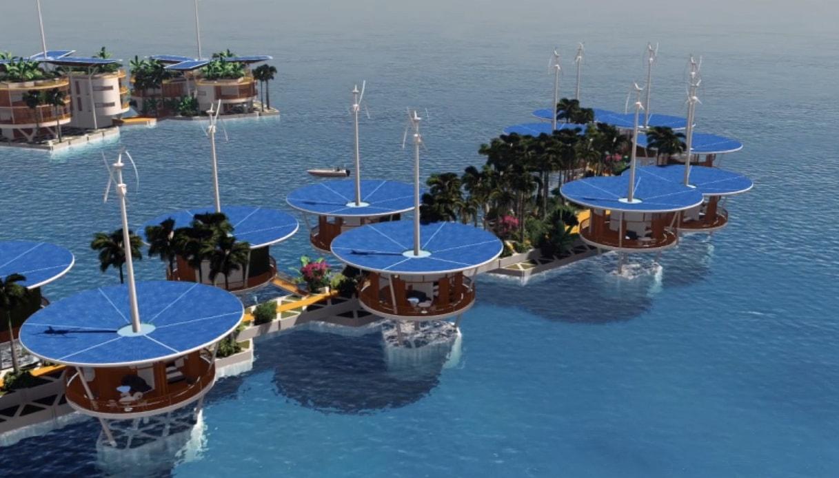 In Polinesia nascerà Blue Frontiers, l'isola galleggiante indipendente