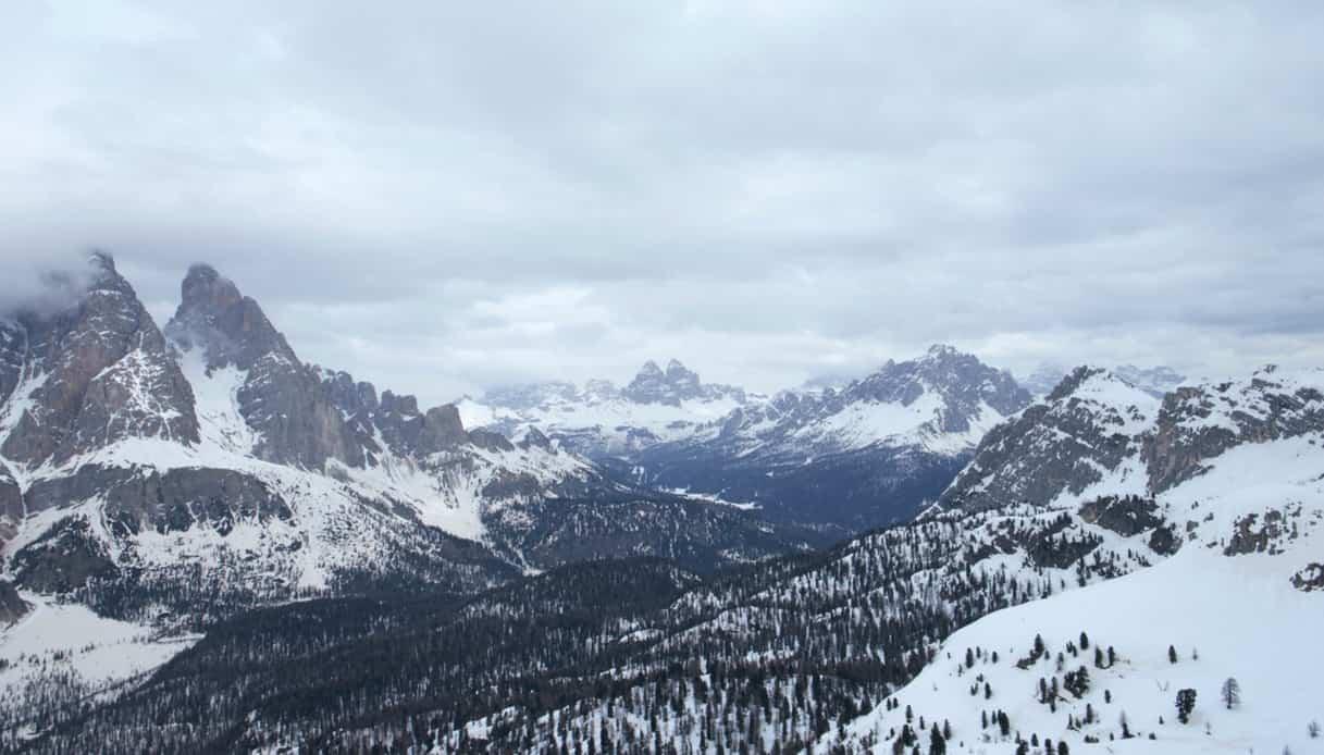 Itinerario cinematografico tra Auronzo di Cadore e il valico alpino delle Tre Croci