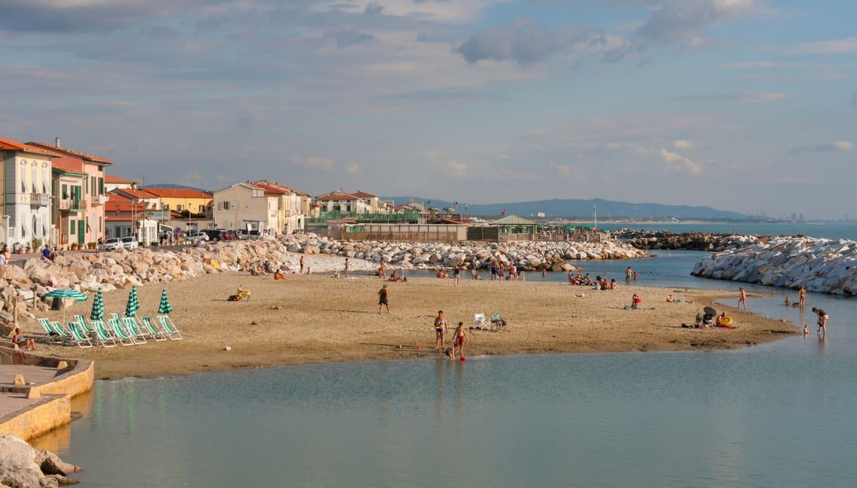 Spiaggia Marina di Pisa, Bandiera verde 2018