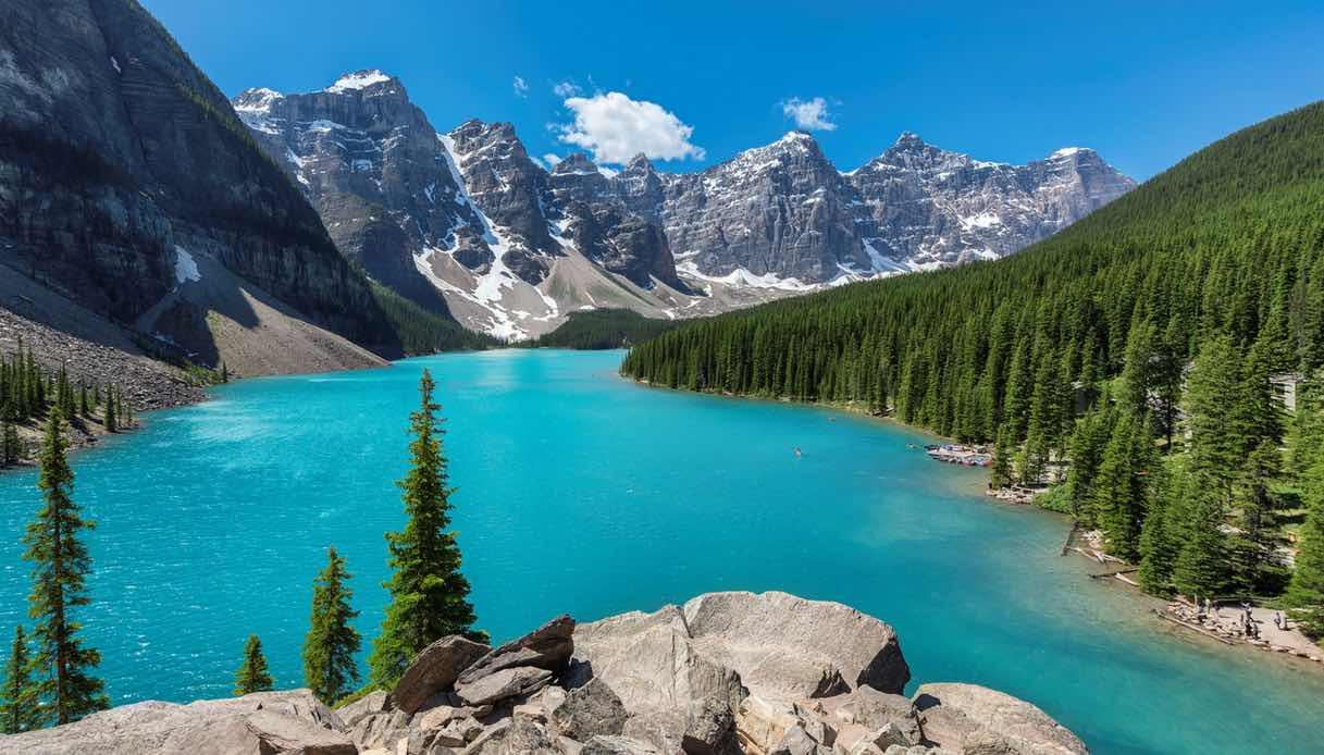 Canada, alla scoperta del Moraine Lake tra le Montagne Rocciose