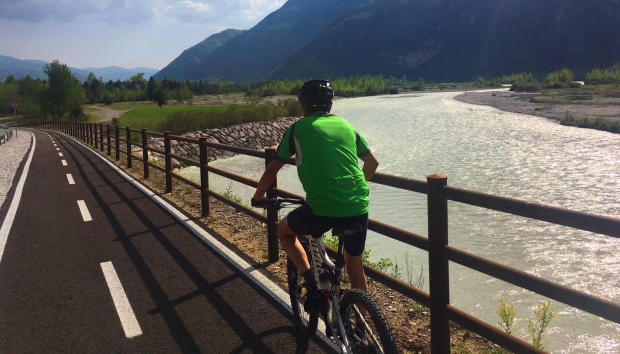 Nasce la ciclabile del Piave, 220 km dalle Dolomiti al mare