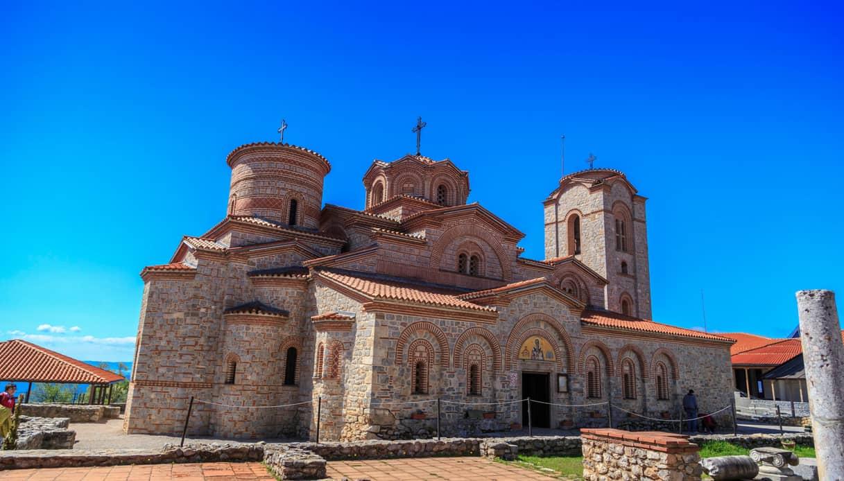 Ocrida, Monastero di San Pantaleone