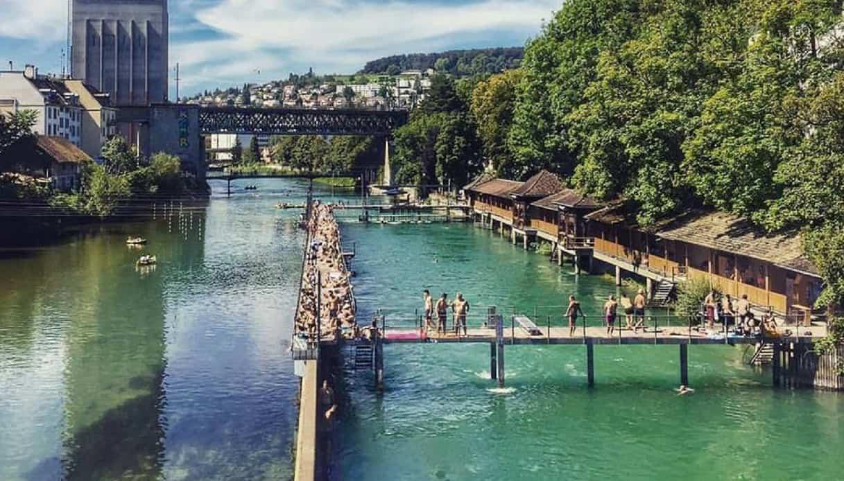 Unterer Letten, uno dei Badis di Zurigo