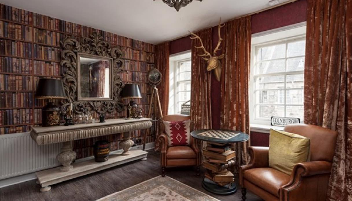 Edimburgo: l'appartamento per le vacanze dedicato ad Harry Potter