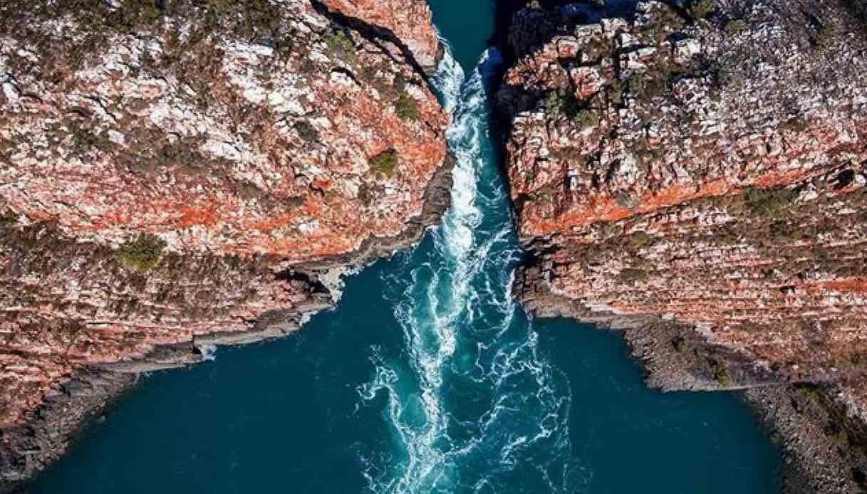 Horizontal Falls, le incredibili cascate orizzontali in Australia