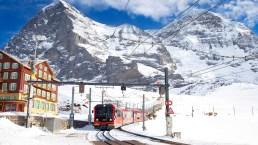 Sciare sulle Alpi, ecco perché conviene andarci in treno