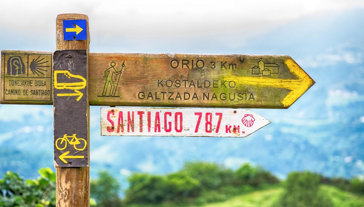 Cammino di Santiago di Compostela