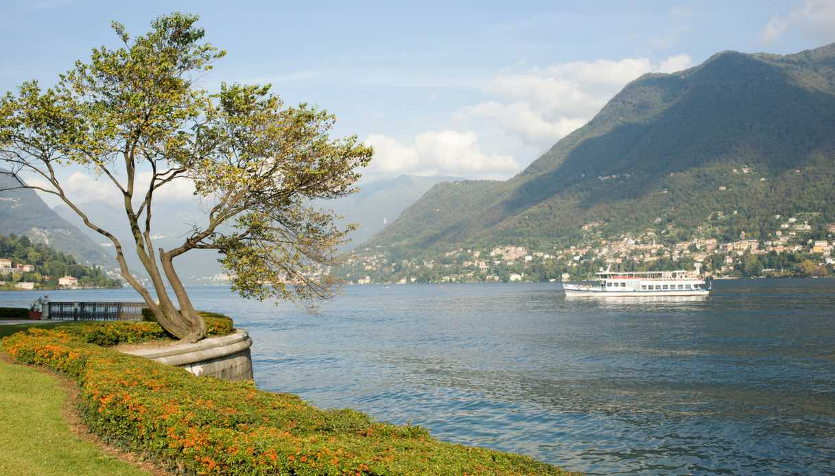 Moltrasio, sul Lago di Como, diventa un set cinematografico con Jennifer Aniston