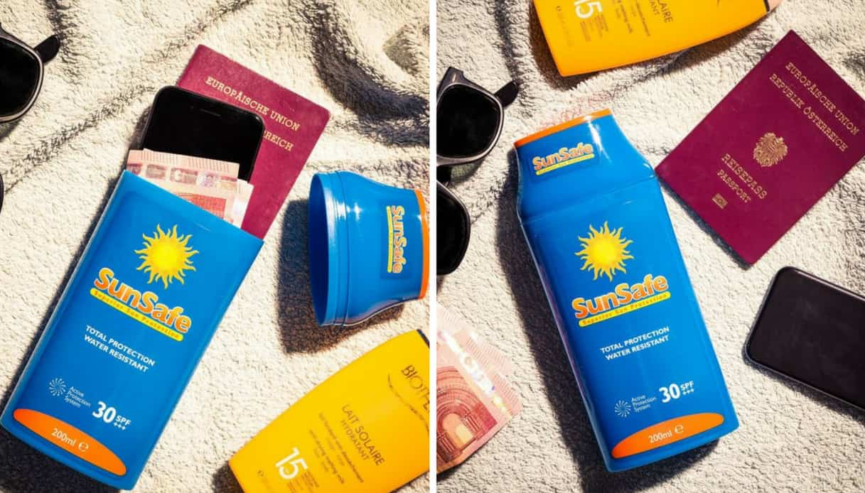 La crema solare cassaforte