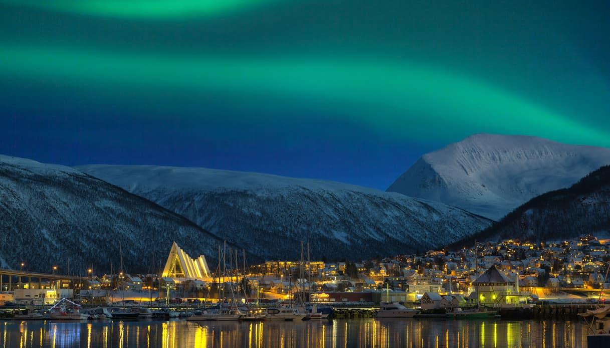 L'aurora boreale a Tromso