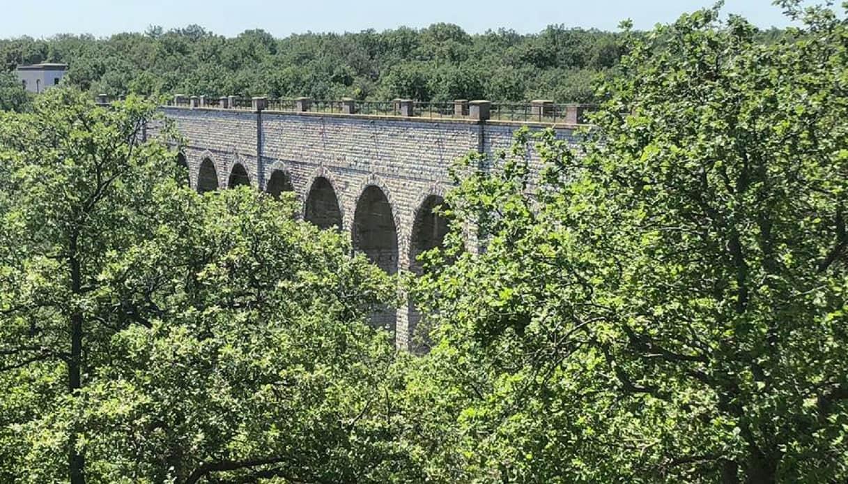 L'itinerario della Ciclovia dell'acquedotto che collega l'Irpinia e il Salento