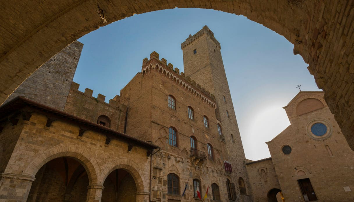 San Gimignano cattedrale medioevale