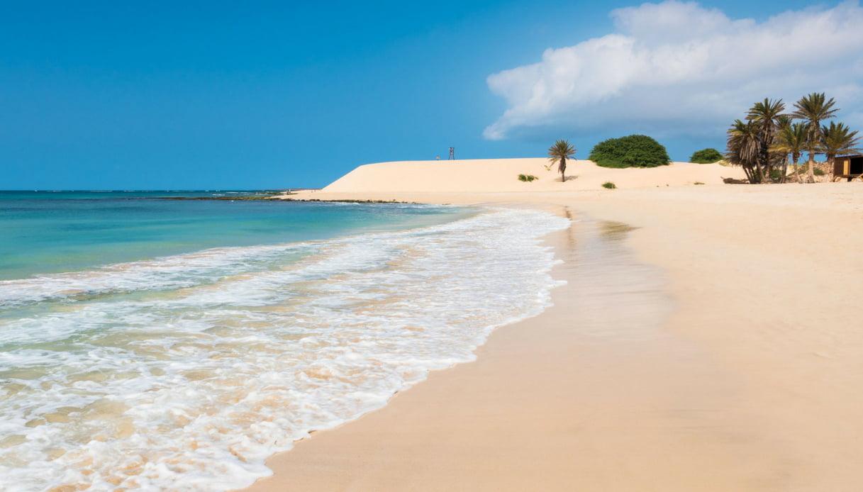 Spiaggia de Chaves, Boa Vista