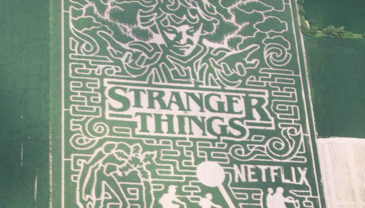 """Negli Usa puoi perderti nell'enorme labirinto di """"Stranger Things"""""""