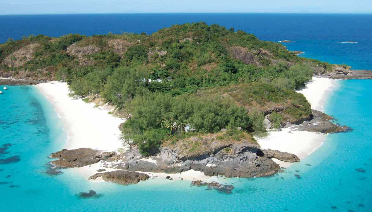 Vista aerea dell'isola di Tsarabanjina