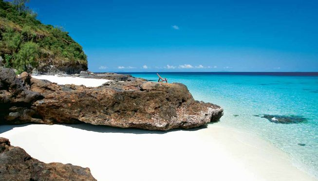 Spiaggia bianca sull'isola di Tsarabanjina