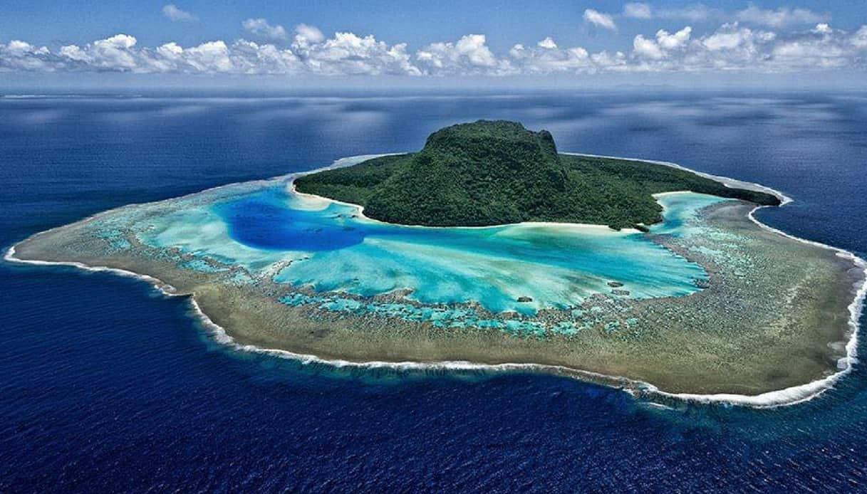 Vatuvara isola cappello fiji