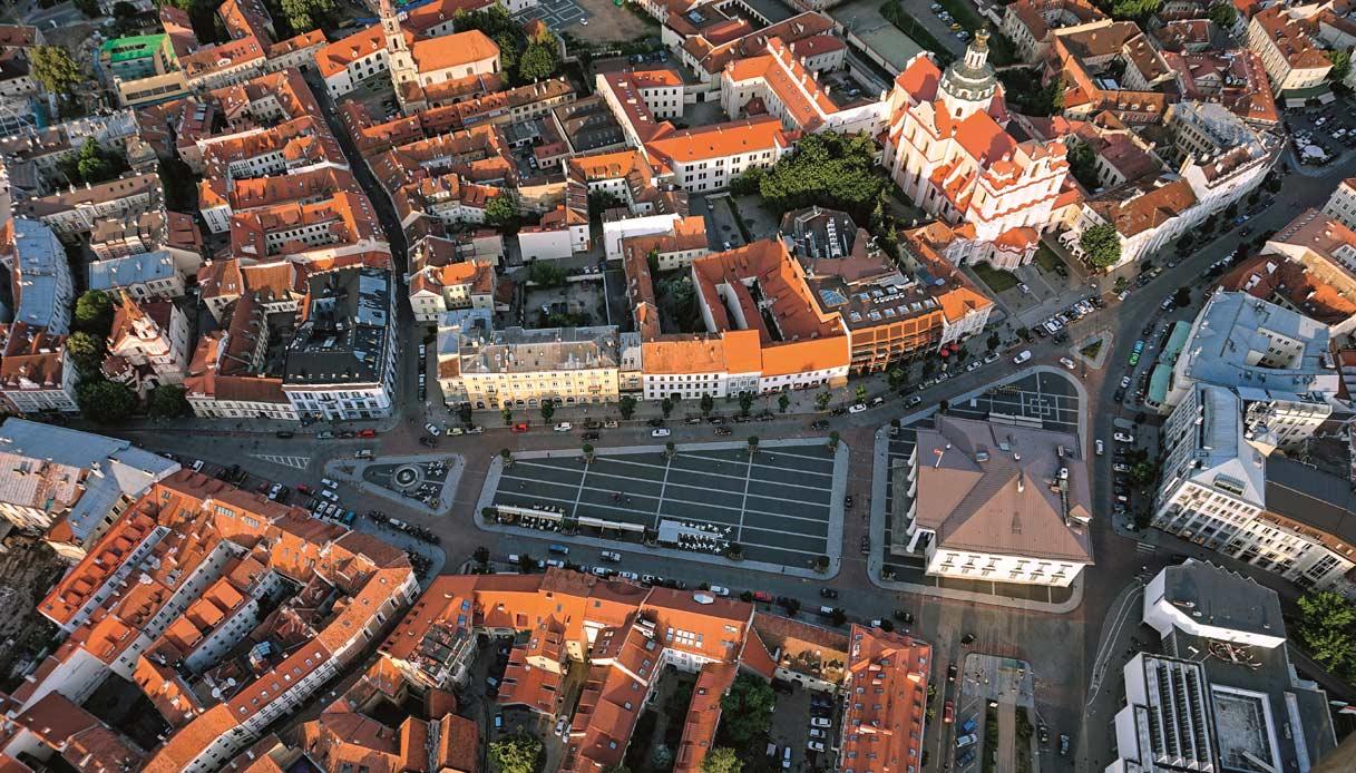 Vilnius-dall-alto