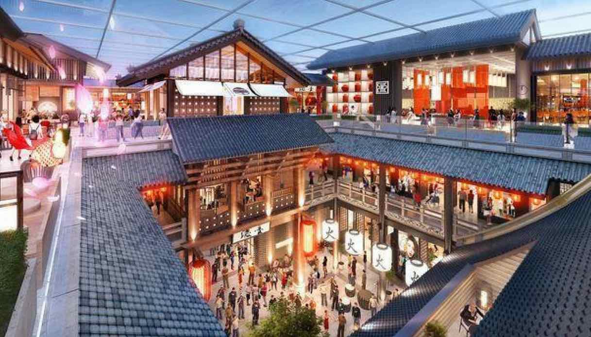 A Dubai, nascerà un centro commerciale grande quanto 100 campi da calcio