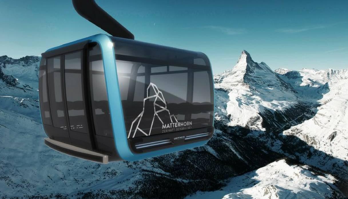 Sarà in Svizzera la funivia più alta del mondo realizzata con cristalli Swarovski