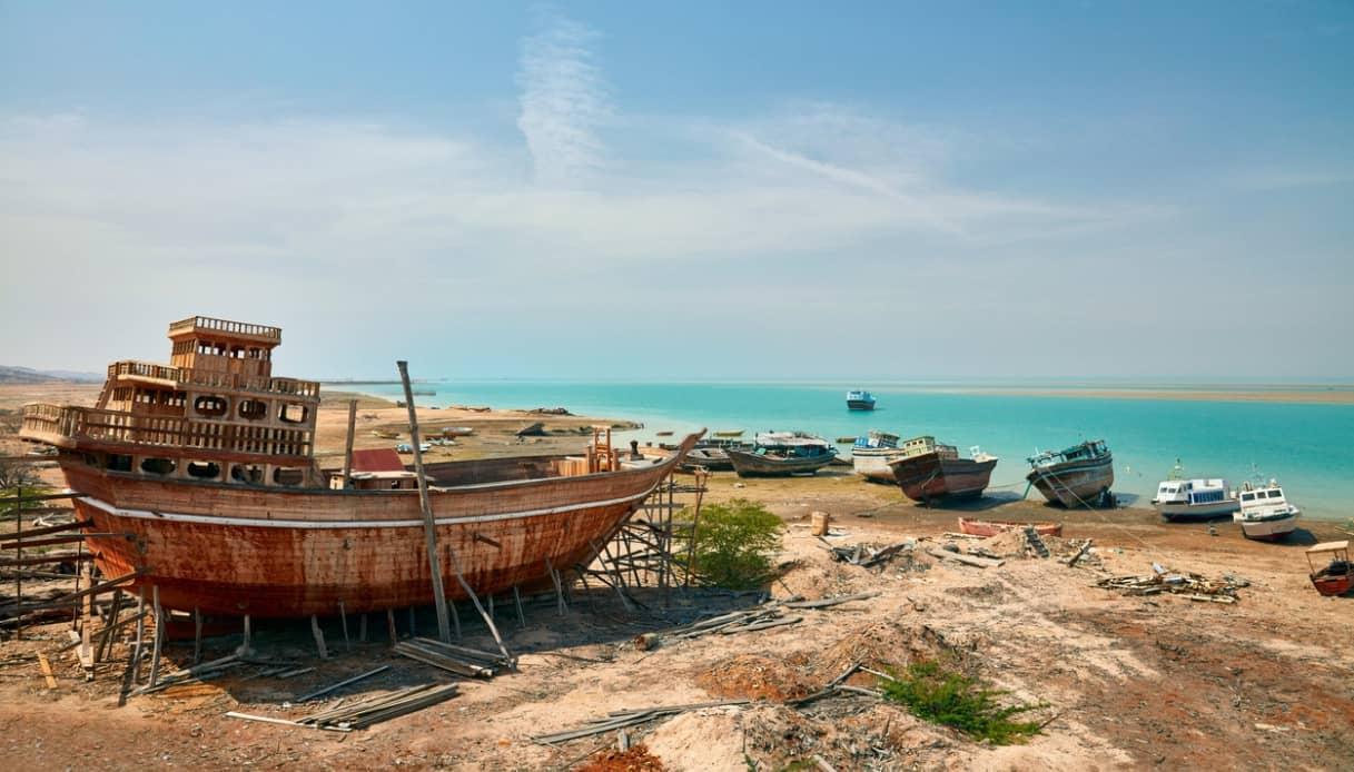costruzione barche Qeshm