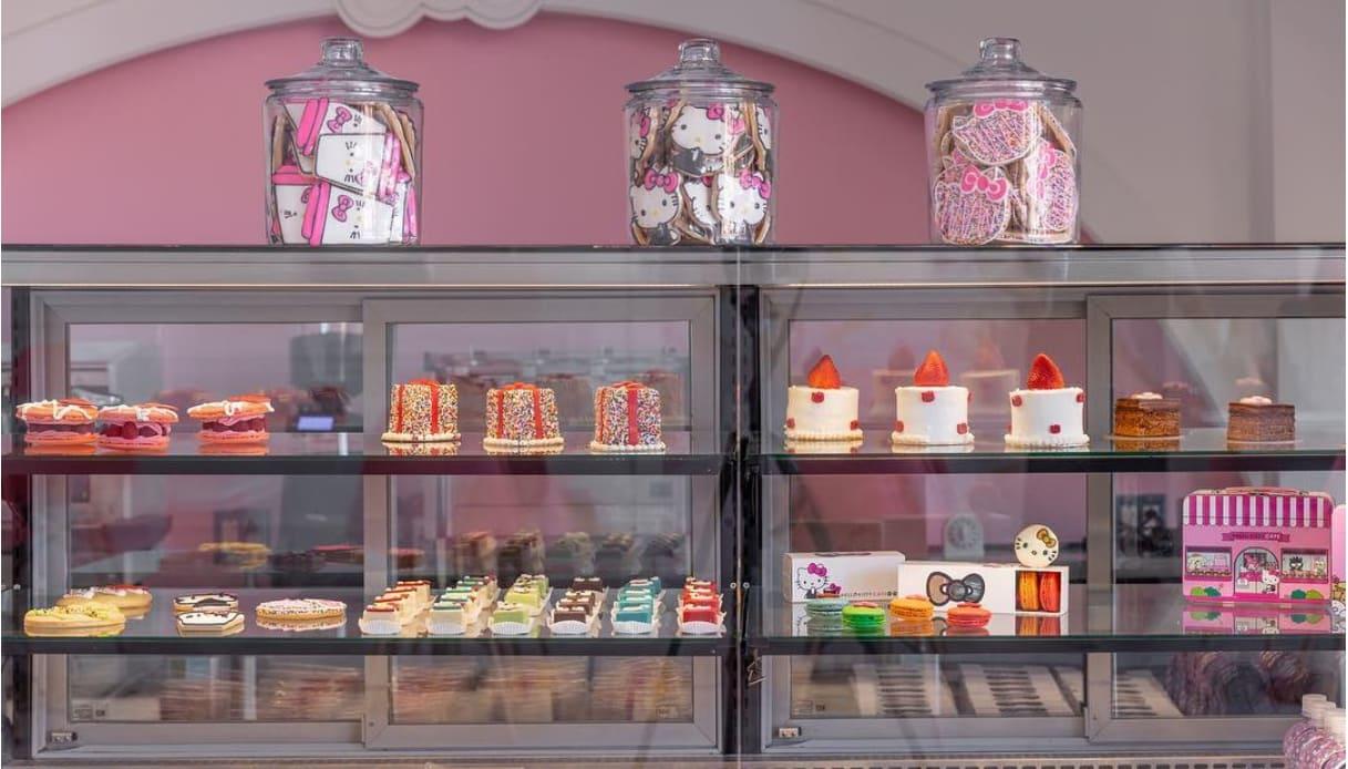 Hello Kitty Grand Cafe Irvine California