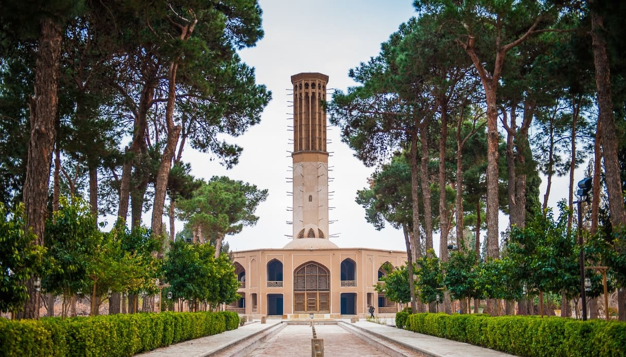 Iran, torre del vento