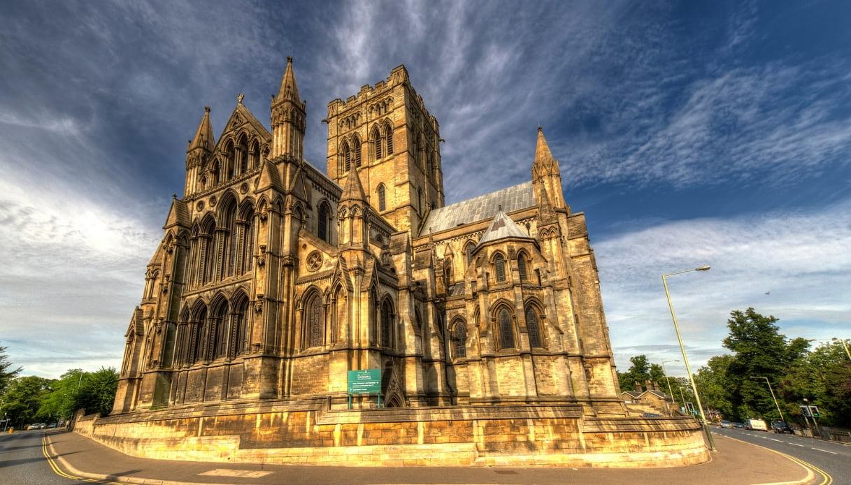 La ragazza dei tulipani - Cattedrale di Norwich