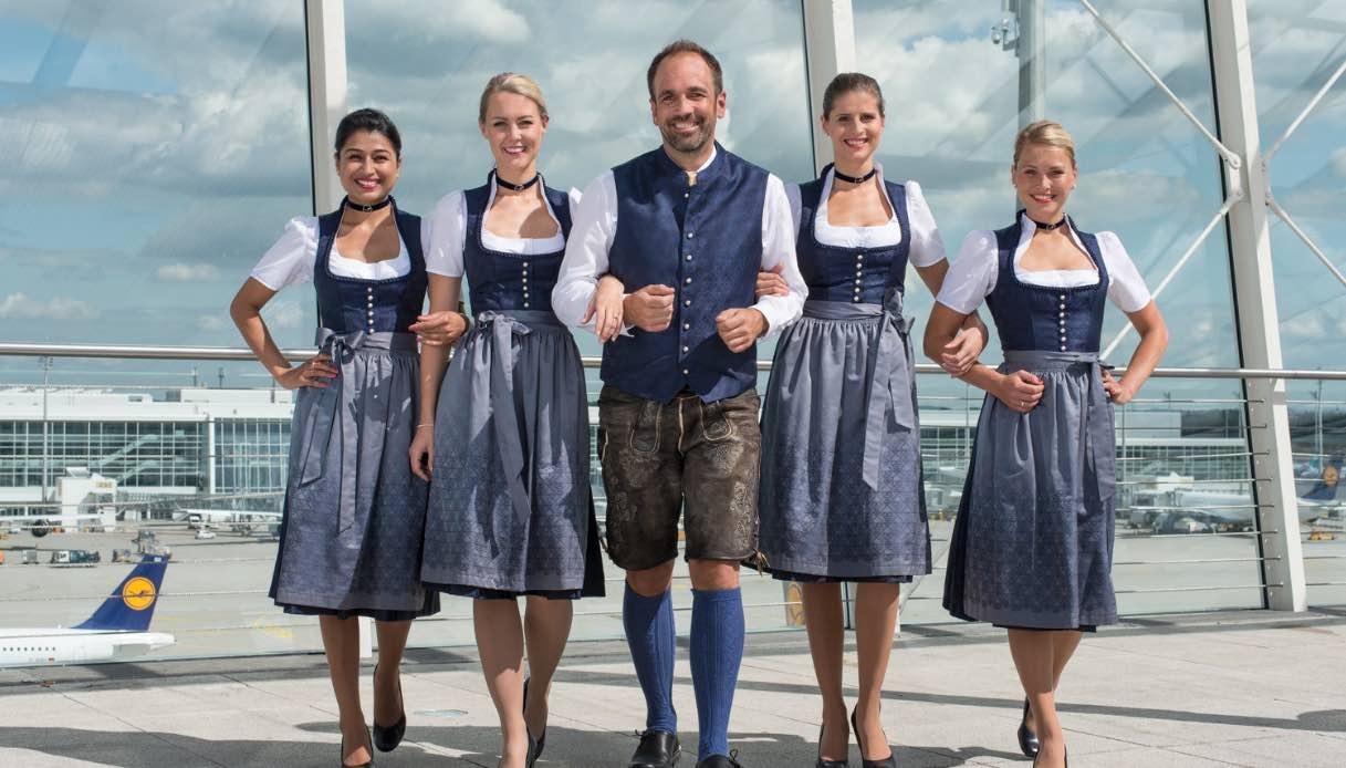 Oktoberfest in volo sugli aerei Lufthansa