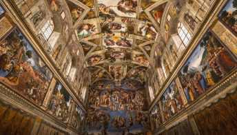 Questa copia della Cappella Sistina è perfetta ed è in Messico