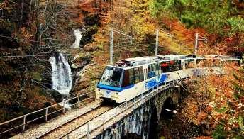 In Autunno parte il Treno del foliage, la ferrovia più panoramica d'Italia