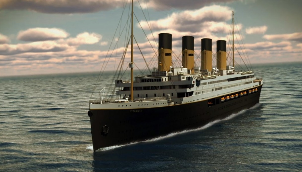 Al via le crociere a bordo del nuovo Titanic